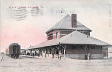 Buy M.K. & T. Station, Greenville, Texas Vintage Postcard