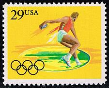 Buy US #2554 Discus; MNH (0.60) (4Stars) |USA2554-02