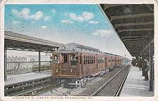 Buy Elevated R.R., 52nd St. Station, Philadelphia PA Vintage Used 1915 Postcard