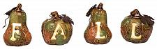 Buy :10969U - Light Up Fall Pumpkin Decoration Figures