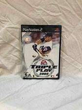 Buy Video Game Plystation PS2 Triple Play Sony 2002