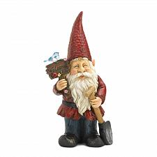 Buy *18773U - Welcome Sign Gnome Solar Light Garden Statue Decoration