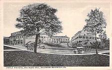 Buy Castle Inn Hotel and Music Hall, Deleware Gap, PA Autos Vintage Postcard