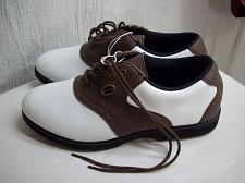 Buy M423k Spalding Golf Shoes Womens Size 9 M, Brown White New w Tags