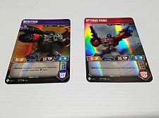 Buy Transformers Trading Card Game TCG WOTC Megatron, Optimus Prime Set of 2