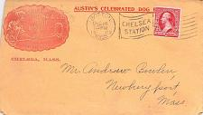 Buy 1902 Chelsea Mass, Austin's Celebrated Dog Biscuit Illustrated Advertising Cover