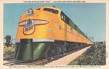Buy New Streamliner 400, Chicago & Northwestern Line Vintage Postcard
