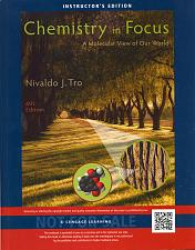 Buy Chemistry in Focus: A Molecular View of Our World 6th INSTRUCTOR'S ED. Like New