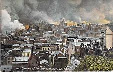 Buy Burning of San Francisco, April 18, 1906 Vintage Postcard