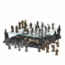 Buy 15190U - Mythical Theme Dragon Figures Chess Set Board Game