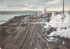 Buy View of the Railroad Yards, Savanna, Ill. Vintage 1901Used Postcard