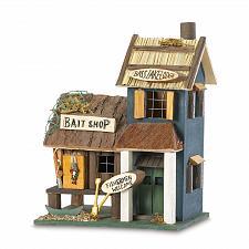 Buy 31245U - Bass Lake Lodge Decorative Wood Birdhouse