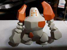 "Buy ***RARE*** Regirock Pokemon Figure 2009 Jakks Pacific 3"" PVC Figure USA"