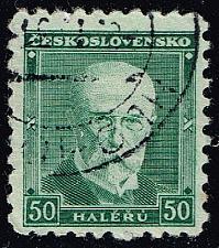 Buy Czechoslovakia #168 President Masaryk; Used (3Stars) |CZE0168-06XRS