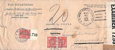 Buy 1945 War Department French Repatriation, Wiesbaden, Germany Censored Cover