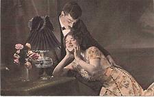 Buy Austrian Couple Romance Color Tinted Photo Vintage Postcard