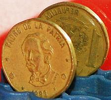 Buy § UNCOMMON ALIGNMENT: DOMINICAN REPUBLIC★1 PESO 1993 RARE★LOW START! NO RESERVE!