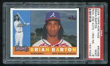 Buy 2009 TOPPS HERITAGE REAL ONE RED AUTO BRIAN BARTON PSA 9 MINT (16317406)