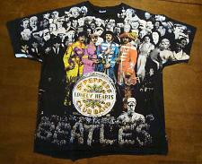 Buy Vintage 1990s Beatles Sgt Peppers Lonely Hearts Club Band T-shirt Black XLarge
