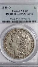 Buy 1888-O MORGAN DOLLAR. PCGS VF-25. DDO-DOUBLE LIPS, NOSE & CHIN. SEE HOLDER.