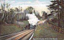 Buy B&A.Railroad Series, State Line Tunnel Vintage Postcard
