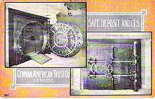 Buy Denver, Colo German American Trust Co. Vaults Vintage Used Postcard