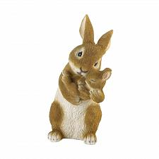 Buy *18807U - Bonding Time Mom & Baby Rabbit Figurine