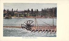 Buy Columbia River Salmon Fish Wheel Vintage Postcard
