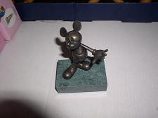 Buy Disney Mickey Mouse Bronze LE Chilmark Limited Edition of 75 Orignial box #17/75