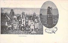 Buy Piute Indians and Squaw With Pappose Scarce Vintage Postcard