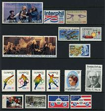 Buy 1976 U.S. Commemorative Year Mint Issues, Set of 22 Mint F/VF NH
