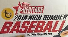 Buy 2016 TOPPS HERITAGE HIGH COMPLETE BASE SET 501-700