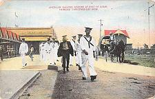 Buy US Navy American Sailors Ashore Trinidad Round the World Trip Vintage Postcard