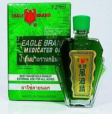Buy EAGLE BRAND RELIEF PAIN DIZZINESS ACHES & MUSCLES PAIN MEDICATED OIL 6, 12 ML..