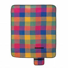 Buy 15110U - Fiesta Plaid Blanket Folding Picnic Mat Vinyl Back