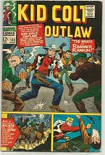 Buy Kid Colt Outlaw #133 Marvel Comics 1967 High Grade, Spiderman Ad BC Kirby Cover*