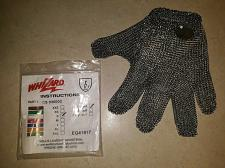 Buy Meat cutters glove size S Whizard Chain Stainless Steel Mesh Hand Glove -New