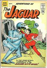 Buy The Adventures Of The Jaguar #8 Archie 1962 Super Hero