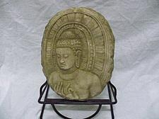 Buy BUDDHA IMAGE HOT ITEM SAND STONE COLLECTIBLE VINTAGE WITH STAND 2