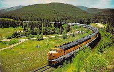 Buy Vista Dome California Zephyr Traveling Through Colorado Rockies Vintage Postcard