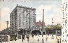 Buy Union Station, Pennsylvania Railroad, Pittsburg, PA Vintage Postcard
