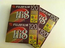 Buy Two Fuji 2-Pack 120-Minute Hi-8 Tapes