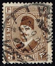 Buy Egypt #130a King Fuad; Used (0.75) (1Stars) |EGY0130a-01XBC