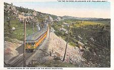 Buy On the Chicago, Milwaukee & St. Paul Railway, Summit of Rockies Vintage Postcard
