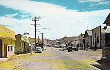 Buy Randsburg California Main Street Vintage Postcard