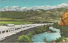 Buy Vista Dome California Zephyr Burlington Rio Grande Unused Vintage Postcard