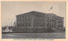 Buy Montrose County Court House, Montrose Colorado Vintage Postcard