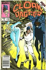 Buy CLOAK & DAGGER #4 Marvel Comics 1986 really great art and stories