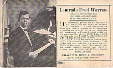 Buy Comrade Fred Warren Socialist Editor, Convicted Federal Felon Vintage Postcard