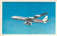 Buy TWA Boeing 707 Vintage Postcard